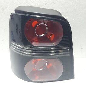 VW Touran 2007 - 2010 Black Rear Tail Light Lamp Passenger Left Near Side