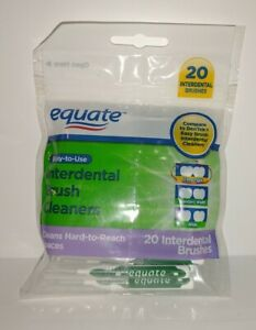Equate Easy To Use Interdental Brush Cleaners Extra Tight 20  Interdental...