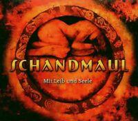 """SCHANDMAUL """"MIT LEIB UND SEELE"""" CD MITTELALTER NEU"""