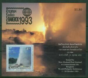 New Zealand. 1993. Bangkok1993. World Philatelic Exhib. Mini Sheet. MUH.