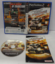 Console Game Gioco SONY Playstation 2 PS2 PAL Namco - The Fast and the Furious -
