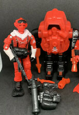 Gi Joe Black Major Cobra Red Shadow Battle Armours Action Force Set 2 Figs Lot
