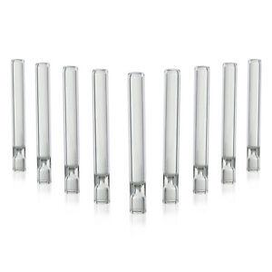 10x One Hitter Tobacco Glass Pipe / Cigarette Holder