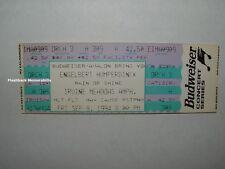 ENGELBERT HUMPERDINCK Unused 1994 Concert Ticket IRVINE MEADOWS AMPHITHEATRE