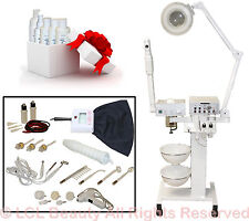 9 in 1 Facial Machine Aromatherapy Steamer Skin Care Spa Beauty Salon Equipment