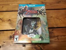 The Legend of Zelda: Twilight Princess + Wolf Link Amiibo Nintendo Wii-U Sealed