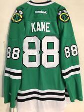 Reebok Premier NHL Jersey Chicago Blackhawks Kane Green St. Pats sz 3X