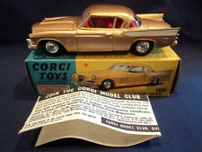 Corgi 1960's Rare Studebaker Golden Hawk Coupe No: 211S MINT Ex Shop Stock