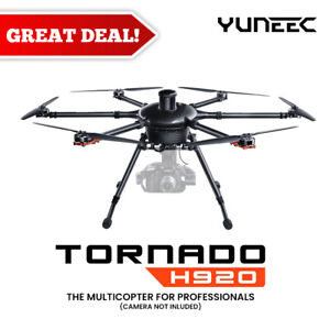 Yuneec Tornado H920 (No Camera) ST24 Remote Control, A10 Dual Charger and more..