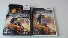 NINTENDO Wii TRANSFORMERS DARK OF THE MOON STEALTH FORCE EDITION WITH CAR