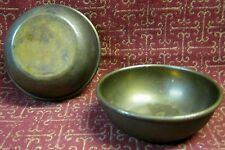 vintage M.M.S. Mobile Minesweeper SHIP WWII BRITISH Royal Navy BRASS BOWLS ~1940