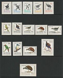 Niuafo'ou 1983 Birds of Niuafo'ou set SG 27-41 Mnh.