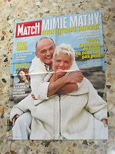 AFFICHE POSTER PUBLICITE PARIS MATCH 2003 MIMIE MATHY & BENOIST