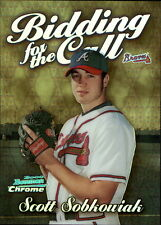 2000 Bowman Chrome Bidding for the Call Refractors #BC7 Scott Sobkowiak Braves