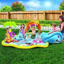 Inflatable Water Park Baby Toy Outdoor Water Children Summer Activity Fun Center