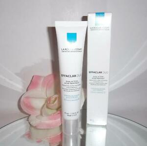 La Roche-Posay Effaclar Duo Dual Action Acne Treatment 1.35oz Benzoyl Peroxide