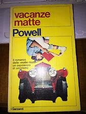 VACANZE MATTE POWELL igarzanti il romanzo dalle matte risate capolavoro umorismo
