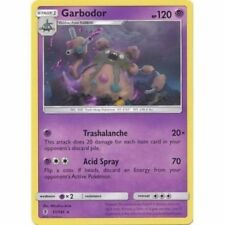 Garbodor 51/145 Sm Guardians Rising Pokemon Rare Rev Holo Card New Mint