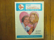 1972 Boston Sund TV Mag(ALL IN THE FAMILY/SALLY STRUTHERS/LUCIE ARNAZ/ROB REINER