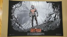 Ant-Man Ken Taylor Variant Screen Print/Poster SDCC Exclusive Marvel Mondo
