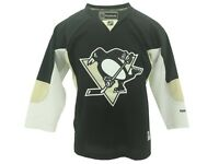 NHL Kids Youth Size Pittsburgh Penguins Reebok Stitched Jersey New With Tags 41a086858
