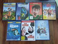 Dvd + Blu-ray Sammlung Kinder 14 Stück top Zustand Walt Disney und co