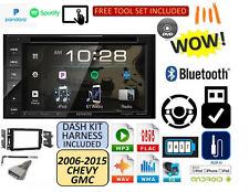 2006-2015 CHEVROLET GMC SILVERADO SIERRA SAVANA KENWOOD USB Bluetooth CAR Stereo