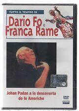 DARIO FO FRANCA RAME JOHAN PADAN E LA DESCOVERTA DE LE AMERICHE DVD FABBRI SIGIL