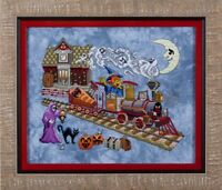 GLENDON PLACE Cross Stitch Pattern Chart EERIE EXPRESS