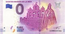 13 SAINTES-MARIES-DE-LA-MER, Eglise et vierge noire, 2019, Billet 0 € Souvenir
