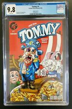 Tommy Cereal Killer #1 CGC 9.8 Cap'n Crunch Variant 2016 Creature Entertainment