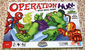 Incredible Hulk Edition Operation Game Replacement Parts & Pieces 2008 Marvel