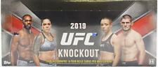 2019 TOPPS UFC KNOCKOUT HOBBY BOX