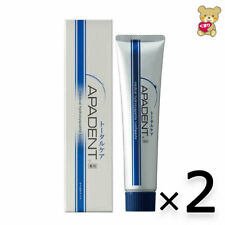 ☀[2pack set ]APADENT Total Care Toothpaste Medical Hydroxyapatite Mild mint 120g