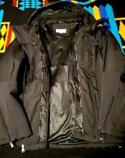 Calvin Klein Jacket (Black, Size 2XL, Hooded, New without Tags)