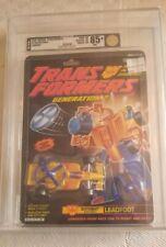 Transformers Generation 2 Leadfoot (Hasbro 1994) AFA 85+ 85/90/90