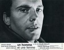 JEAN-LOUIS TRINTIGANT UN HOMME ET UNE FEMME 1966 VINTAGE LOBBY CARD #4