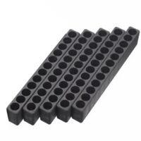 5 Pcs Storage Case Holes Screwdriver Plastic Head Storage/Driver Holder Rack
