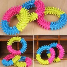 Rubber Resistant For Pet Dog Playing Chewing Toy Pet Thorn Ring Teeth Chew Toy