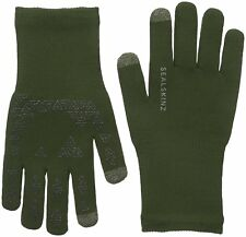 Sealskinz Ultra Grip Waterproof StretchDry Touchscreen Gloves M Olive 12116170130120