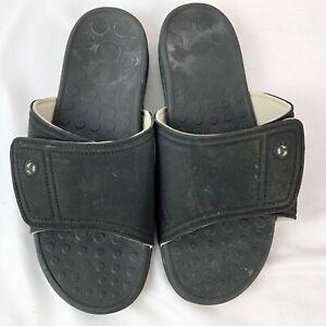 Vionic Kiwi Black Slide Comfort Sandal Mens 12 HTF 24KIWIU/TVM1019
