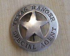 TEXAS RANGER SPECIAL AGENT  BADGE BW - 79   WESTERN POLICE MARSHALL