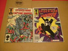 Marvel Team Up #s 141 142 143 144 145 146 147 148 149 & 150*SPIDER-MAN*10 BOOKS*