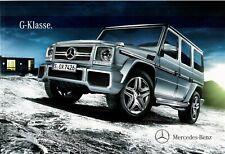Prospekt/brochure Mercedes G-clase 01/2014 con lista de precios