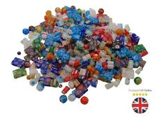 30g Assorted Mix Millefiori Glass Beads Chips Drums Jewellery Beading Craft E90