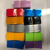 18650 PVC Pre-Cut Li-Ion Battery Heat Shrink Wraps, Multiple Colors 10/25/50 pcs