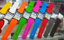 Iwatchz Q Wristband Watch Strap for Ipod Nano 6th generation Silicone 9 colors