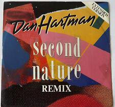 "DAN HARTMAN : Second Nature (12"" PS UK 1985)"