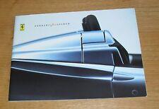 Ferrari 360 Spider Sales Brochure 2000-2005 - 360 Spyder