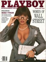 Playboy Magazine August 1989
